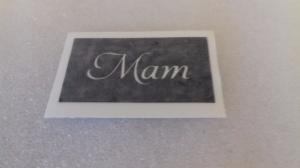 1 - 100  x  Mam word stencils for glitter tattoos / airbrush / face painting / many other uses mum Mothers Day Welsh Wales